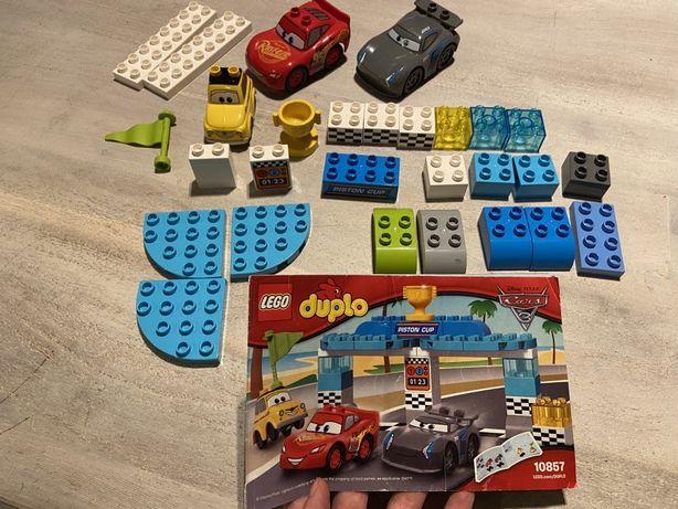 Lego Duplo wyścig o zloty tłok 10857 + 11 klockow gratis