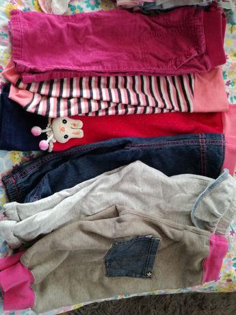 Bluzy, spodnie, legginsy, body