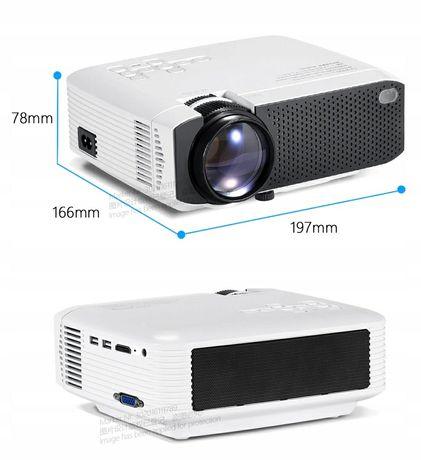 AUN D50s rzutnik, mini projektor led