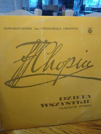Chopin dzieła wszystkie Halina Czerny Stefańska winyl