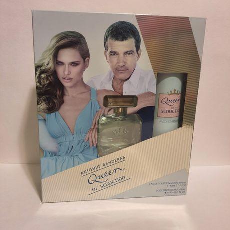 Подарочный парфюмерный набор Antonio Banderas Queen of Seduction 80мл