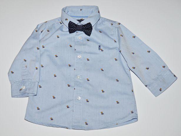 Koszula w misie Mayoral 68 cm 6m niebieska