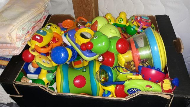 Zabawki edukacyjne plastikowe grające Fisher Price