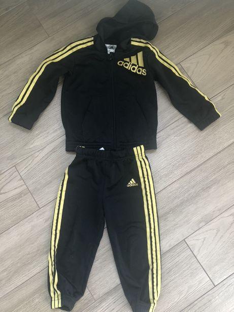 Спортивний спортивный костюм оригинал Adidas 12-18 месяцев