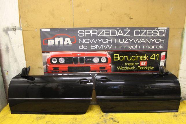 BMW E46 Coupe Cabrio Drzwi COSMOSSCHWARZ 303/9 BDB Stan Części BMA