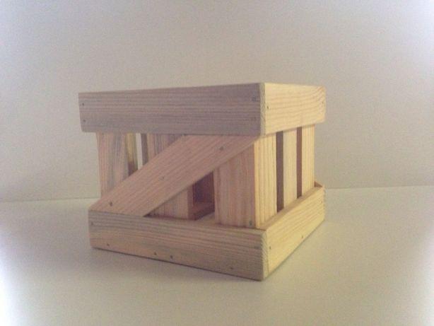 Деревянный ящик для декора, хранения