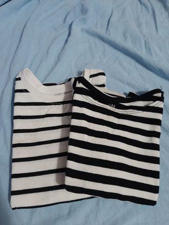 H&M i Next Koszulki bawełniane rozm. 92