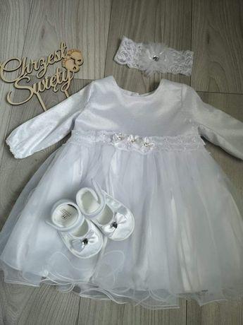 Ubranko, sukienka do chrztu, wesele dla dziewczynki