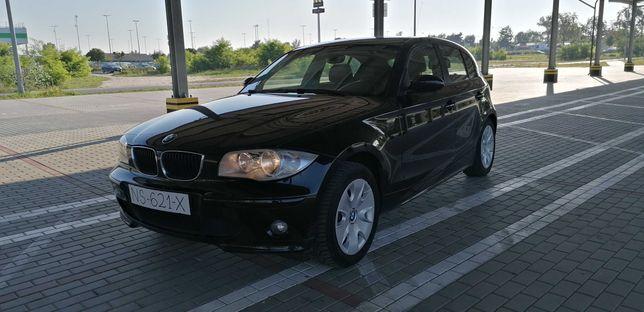 BMW, E87, 116i, 1.6 BENZYNA, Klimatyzacja, Opłaty, Ładny Stan.