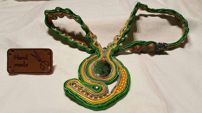 Naszyjnik/wisior/biżuteria hand made