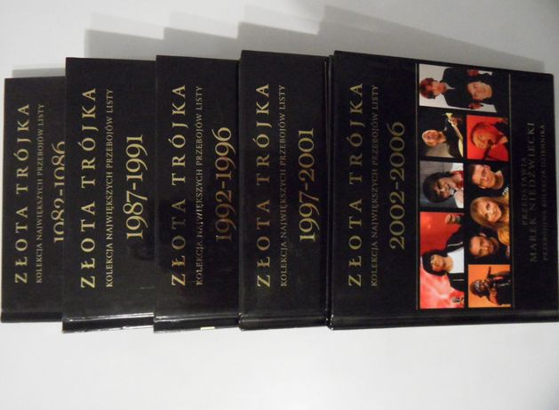 Złota Trójka Kolekcja Największych Przebojów Listy 1982/2006 5 płyt CD