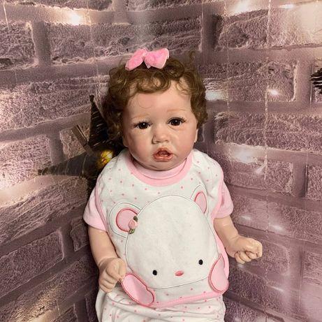 Кукла Reborn саския с свидетельством о рождение