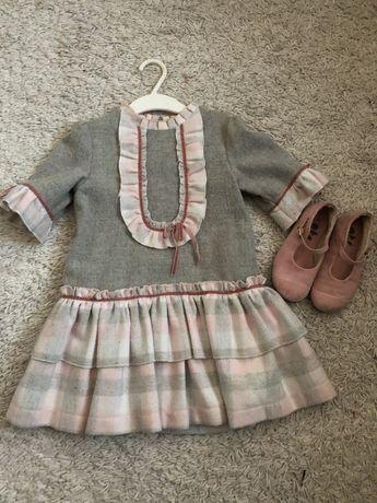 vestido menina t3/4 anos