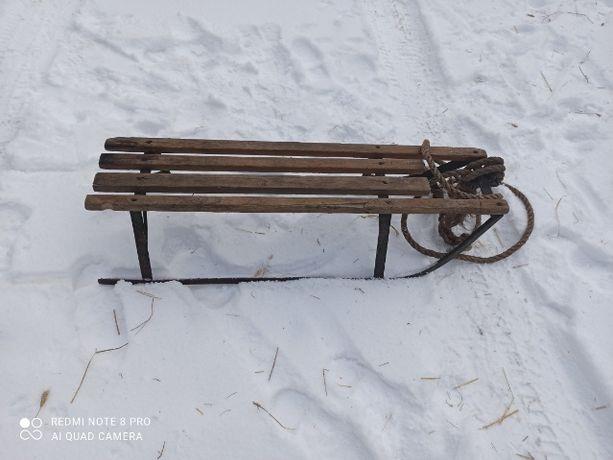 Sanki drewniane używane