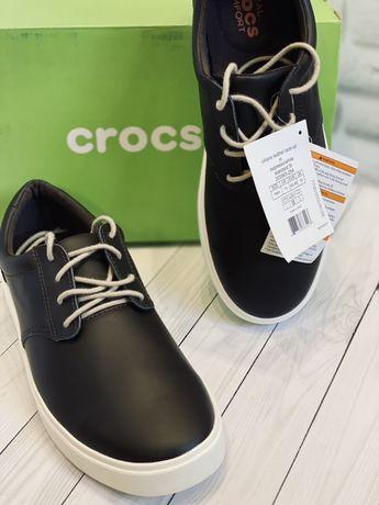 Слипоны мокасины crocs us 11