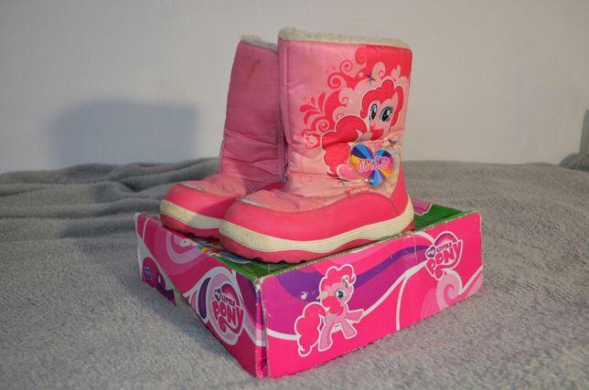 Зимові чобітки для дівчинки My Little Pony 31р