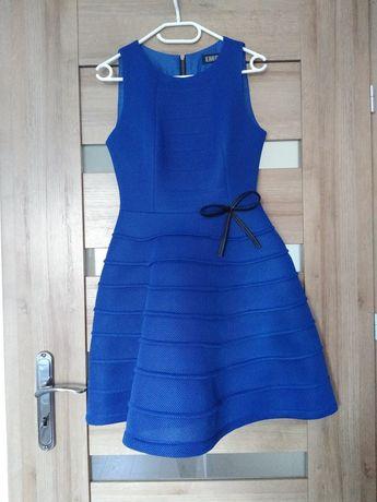 Sukienka niebieska 38M