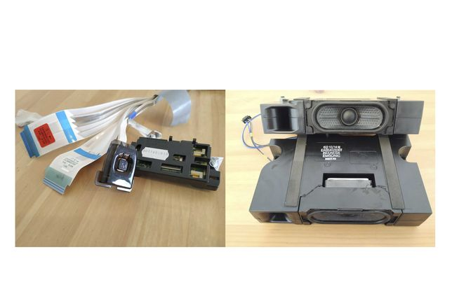 Smart TV LG UHD 4K 43'' 43UK6200PLA - diversas peças
