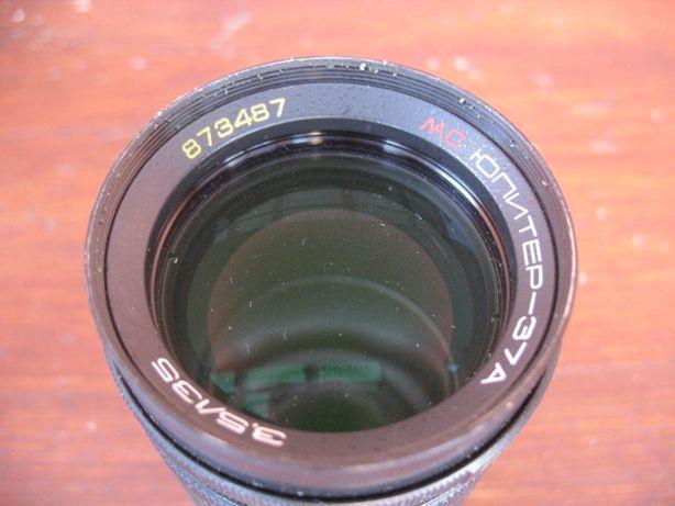 MC JUPITER 3,5/135-stary orginalny obiektyw do aparatu fotograficznego