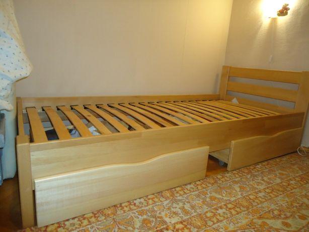 Кровать Рената дерево - бук 90х200 см