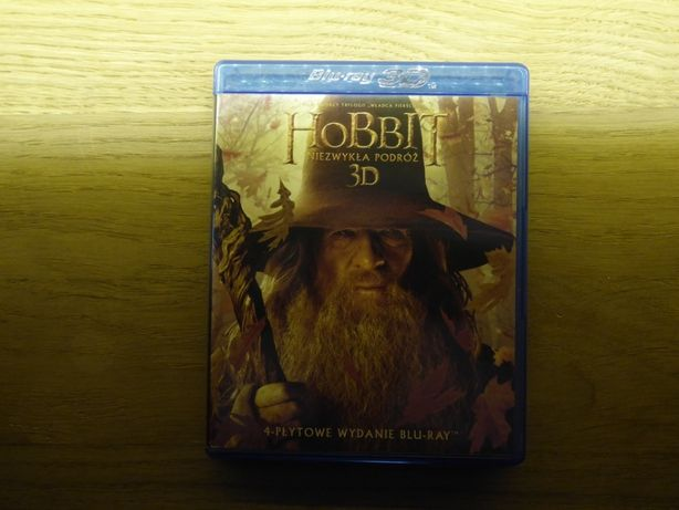 Hobbit: Niezwykła podróż 3D/2D Blu-ray