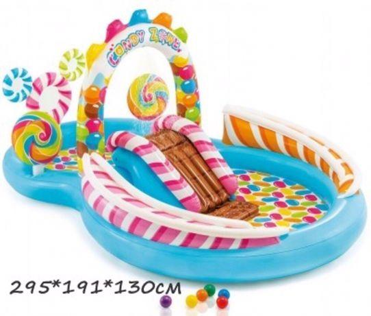 Надувной детский игровой центр , бассейн детский , интекс , intex
