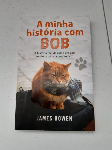 Livro A minha história com Bob