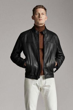 Куртка кожаная Massimo dutti, L. Новая.