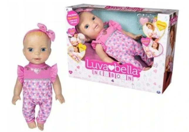Interaktywna lalka LUVABELLA Newborn jak prawdziwa