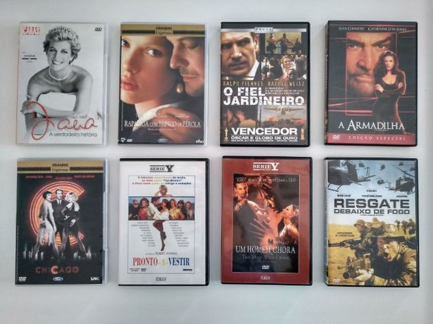 Vários Filmes DVD (Diana, O Fiel Jardineiro, Um Homem Chora…)