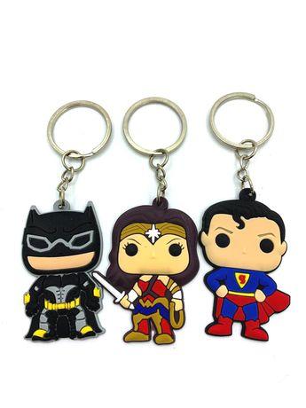 Брелок для ключів  wonder woman batman superman Бетмен супермен