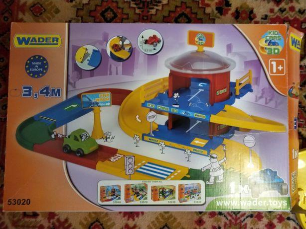 Игровой набор Трек Kid Cars 3D Wader 53020
