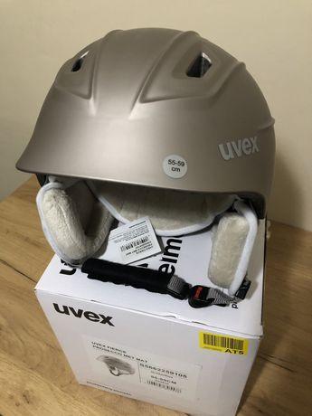 Kask narciarski UVEX Fierce prosecco met mat 55-59 cm