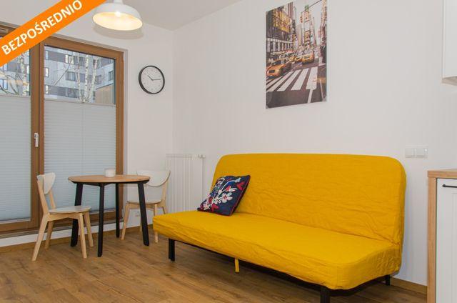 Mieszkanie 2 pokojowe Mokotów 38m2 bezpośrednio + miejsce postojowe