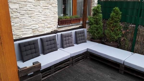 MATERACE -poduszki na meble ogrodowe