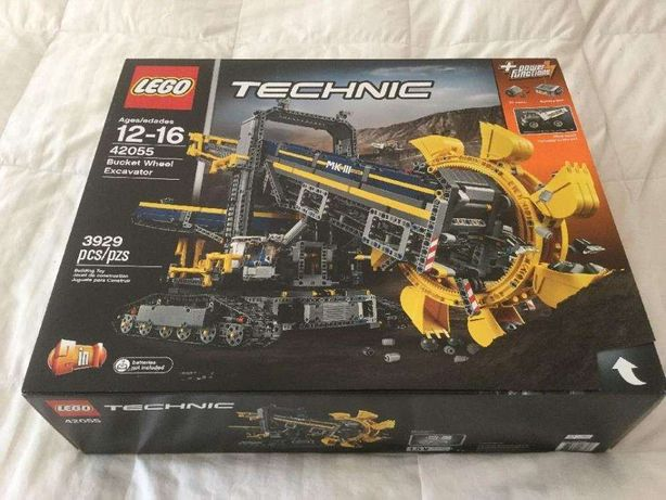 LEGO TECHNIC 42055 - Górnicza Koparka Kołowa - NOWA i ORYGINALNA !!!