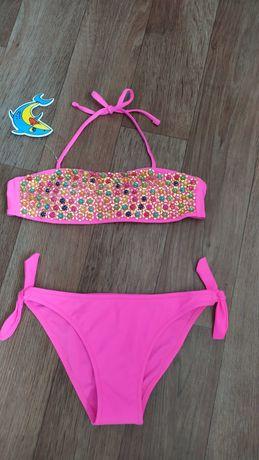 Замечательный модный купальник для девочек. 10-14лет