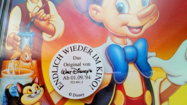 Płyta CD Walt Disney's - PINOCCHIO - Soundtrack Orginal