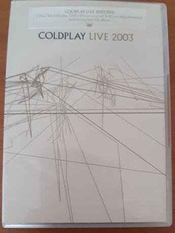 Vendo Dvd Coldplay Live 2003