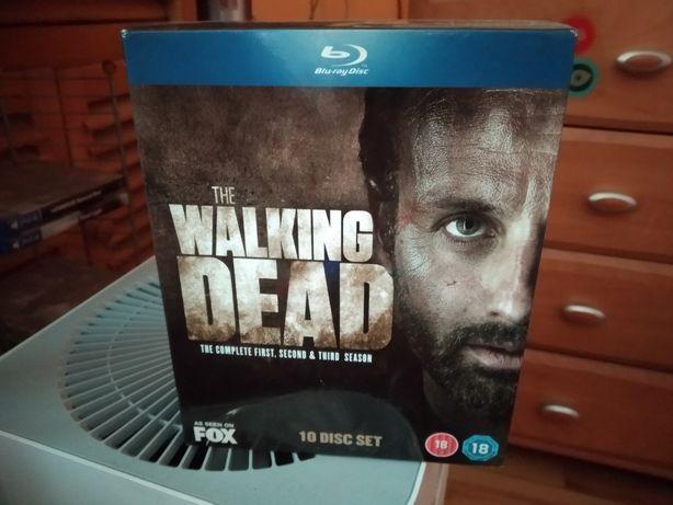 The Walking Dead blu-ray 1-3 season