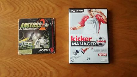 Anstoss 2 e Kicker Manager 2004