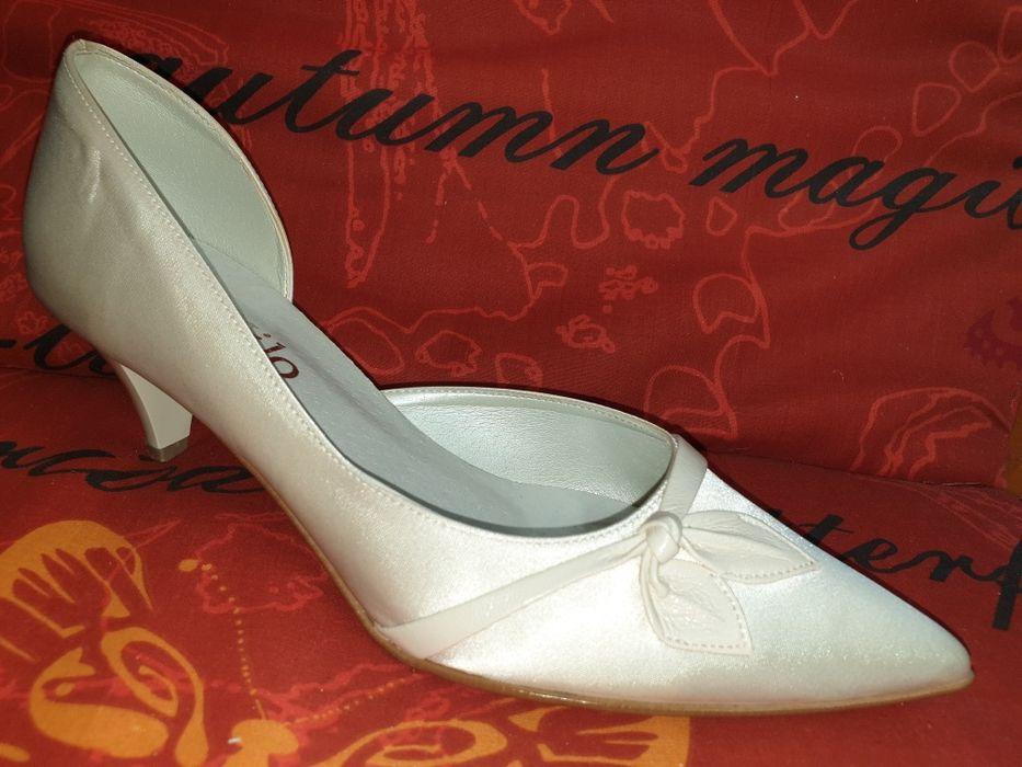 Buty ślubne wizytowe 39 Łódź - image 1