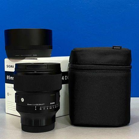 Sigma ART 85mm f/1.4 DG DN (Sony FE) - NOVA