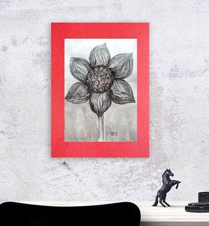 grafika do loftów, czarno biały obraz, rysunek biało-czarny do pokoju