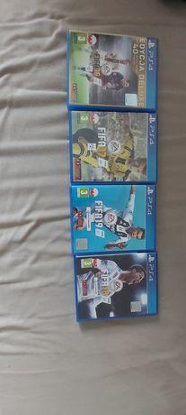 Gry FIFA 16, 17, 18, 19 - PS4