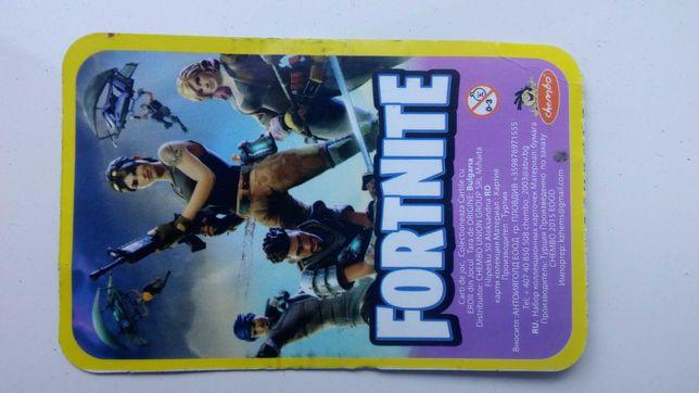Карточка Fortnite