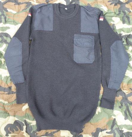 Sweter bundeswehr granatowy XL