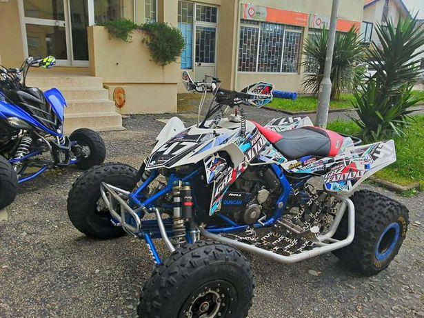 Kits gráficos autocolantes - moto4 / qx / quad - Suzuki