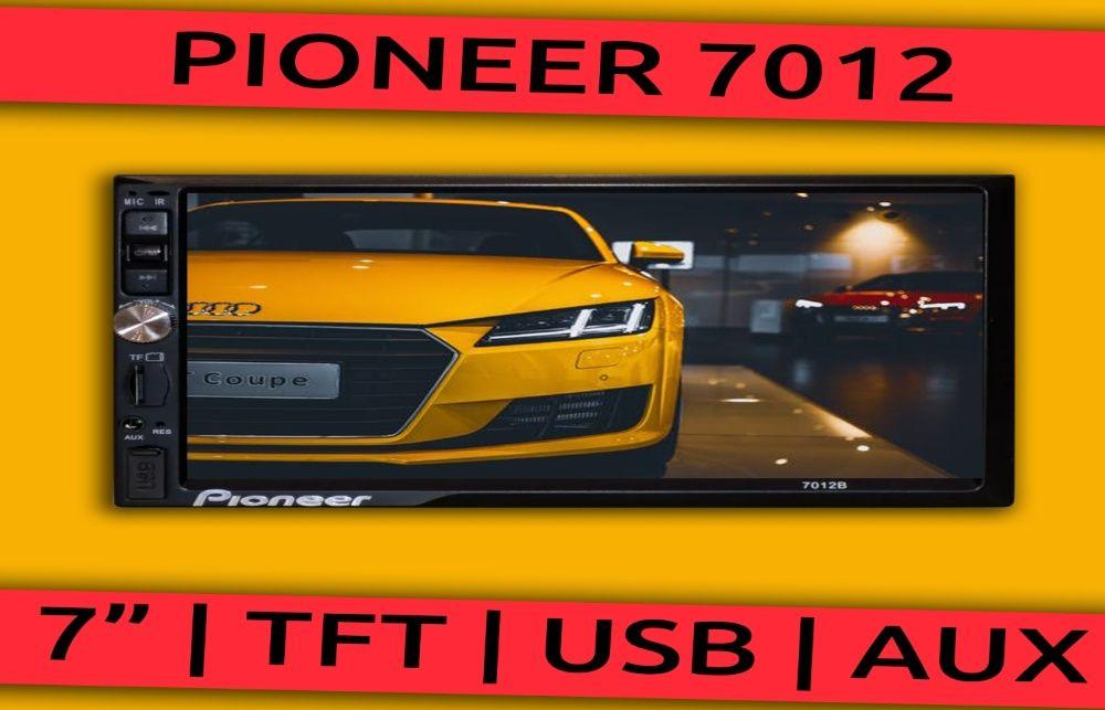 Pioneer магнитола 7012 2 DIN, USB, SD, Fm, сенсор, Aux. Хит! Стрый - изображение 1