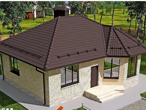 Дом под Киевом с. Гнедин (Гнідин) + участок будинок на ділянці
